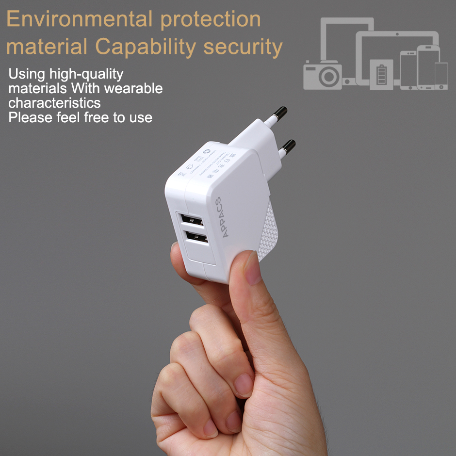 eu plug travel charger