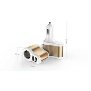 APPACS AB01031 New Design Car Cigarette Lighter adapter