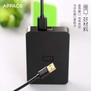 APPACS 2018 neue produkte AB03172 PVC material usb 3,0 samsung not3 ladekabel