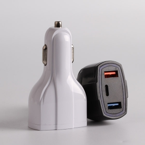 APPACS AB01006 ABS Material Universal Dual Usb Fast Charging 2.1a Car Charger For Mobile Phone