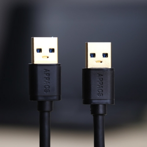 APPACS Factory Wholesale AB03171 USB 3.0 Extension Cable Male to Male data cable