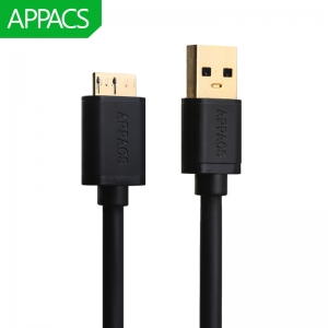 APPACS U172 5V 3A USB 3.0 A Samsung Galaxy S5 Note 3 Cable