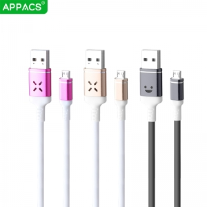 APPACS U212 Voice control iPhone cable 2.4A
