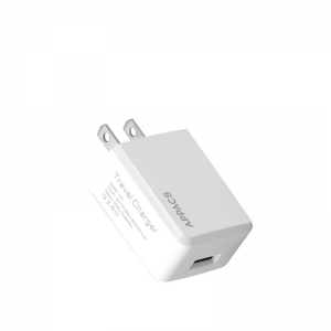 APPACS AB02032 Protable Travel Wall USB Charger 5V2.1A