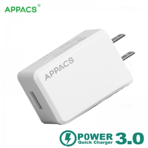 QC 3.0 fast speed travel charger