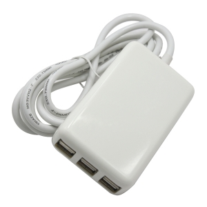 Wholesale 6 port usb wall charger with cable