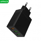 China APPACS APUS11 US Charger USB-adapter Travel Wall Charger voor Huawei fabriek