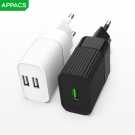 China APPACS A3/A4  1USB/2US AC Adapter 2000ma Wall Charger Wholesale factory