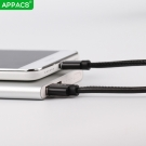 China APPACS AB03182-I PU fast charging data cable for iphone 8 2.4A factory
