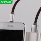 China APPACS AB03183-I Denim braided sync data charging USB cable for iPhone 7 6 6s Plus factory