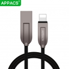 China APPACS B2B supplier hot sale U194 High speed usb 2.0 3D zinc alloy cable support wholesale custom factory