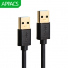China APPACS U171 3.0 USB Cable 5V 3A Male to Male factory