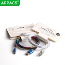 China APPACS U18 High quality PVC rainbow charging new data cable-Fabrik