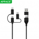 China APPACS U34 4 IN 1 usb cable factory