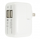 China Dual port usb wall charger for usb-powered device factory