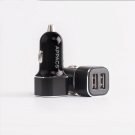China APPACS AB01003 LED 2.4A fast charge dual USB car-charger factory