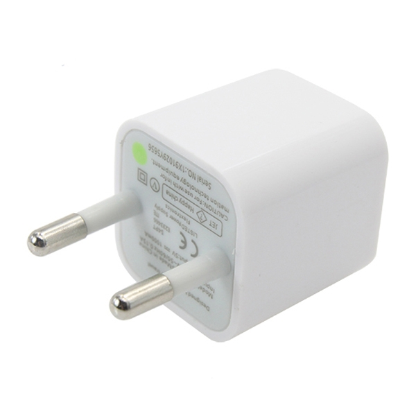 apple usb charger. apple usb to wall charger with single 5v 1a